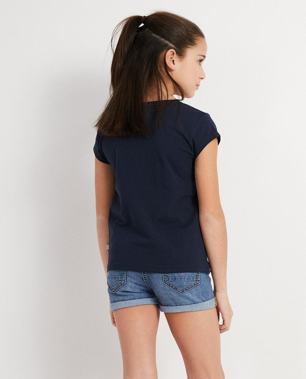 T-Shirts - Navy - Stip it T-Shirt